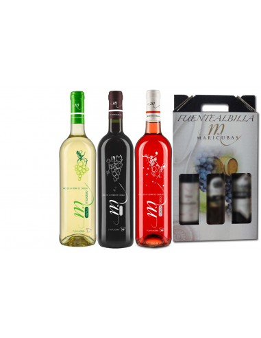 Estuche 3 botellas – Variedad 1