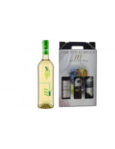 Estuche 3 botellas – BLANCO MACABEO -...